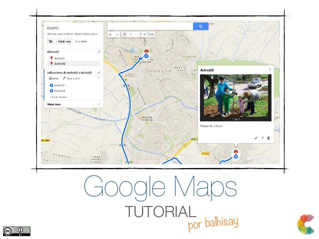 Google Maps TUTORIAL por balhisay