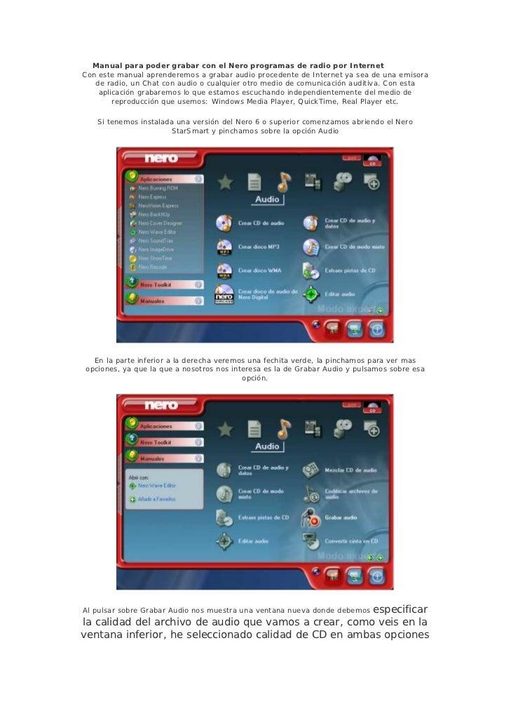 tutorial grabar radio rh es slideshare net Sondagem De Abge ManualDownload Sondagem De Abge ManualDownload