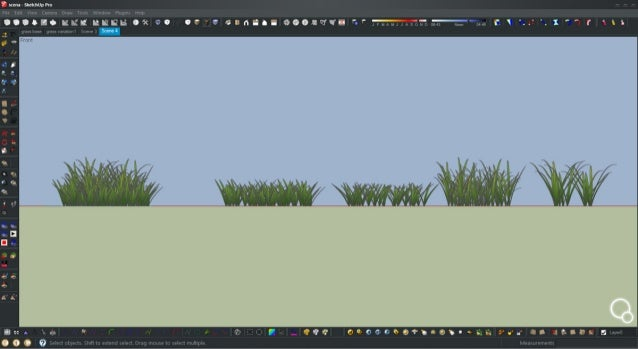 Tutorial vray for sketchup proxy real grass