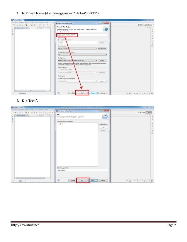 Tutorial Hello World Web Services with Apache CXF Slide 3