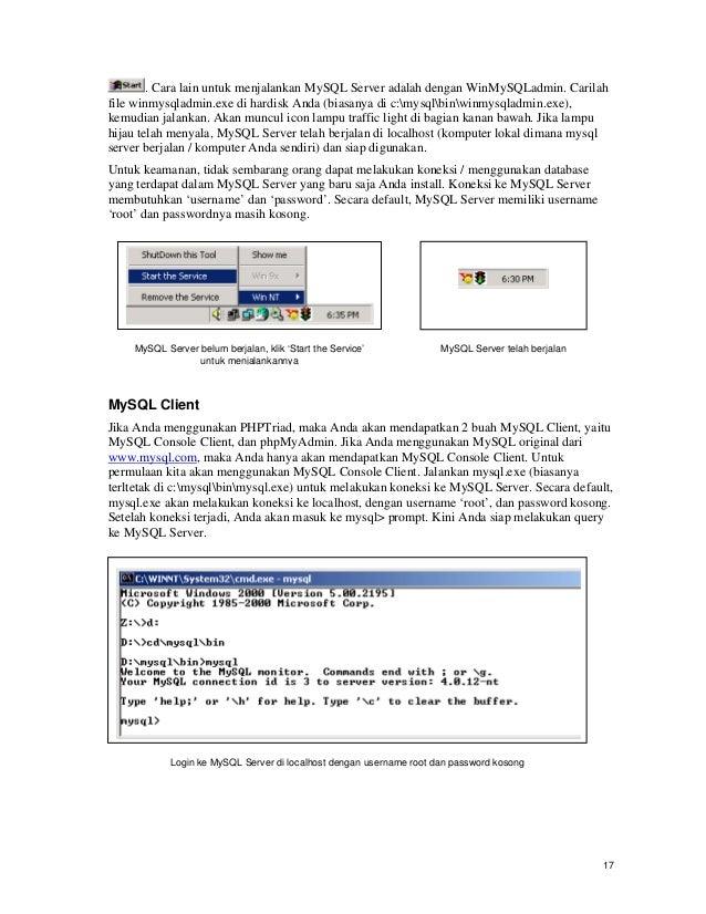 Tutorial html + my sql + php