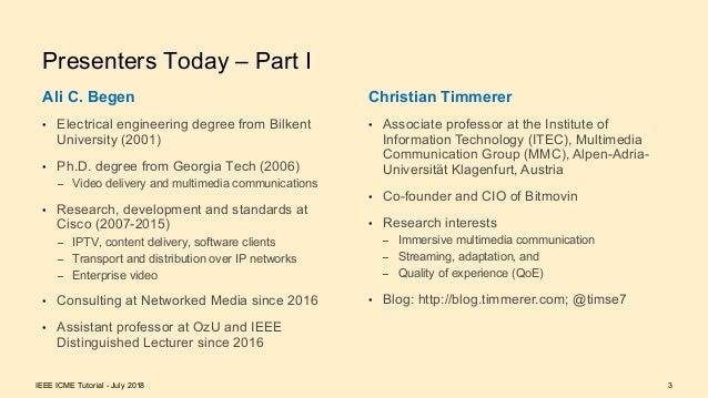 Delivering Traditional and Omnidirectional Media Slide 3