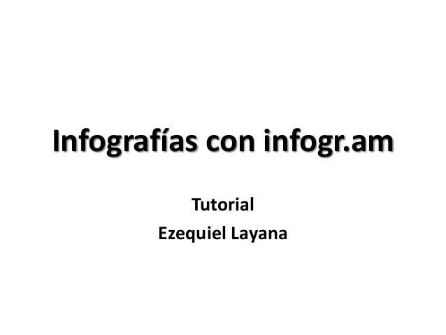 Infografías con infogr.amTutorialEzequiel Layana