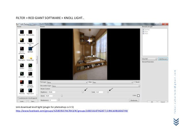 FILTER > RED GIANT SOFTWARE > KNOLL LIGHT..                                                                               ...