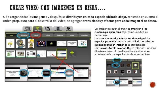 1. Se cargan todas las imágenes y después se distribuyen en cada espacio ubicado abajo, teniendo en cuenta el orden propue...