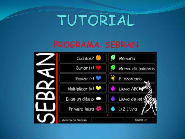 PROGRAMA: SEBRAN