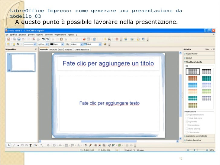 tutorial libre office writer impress