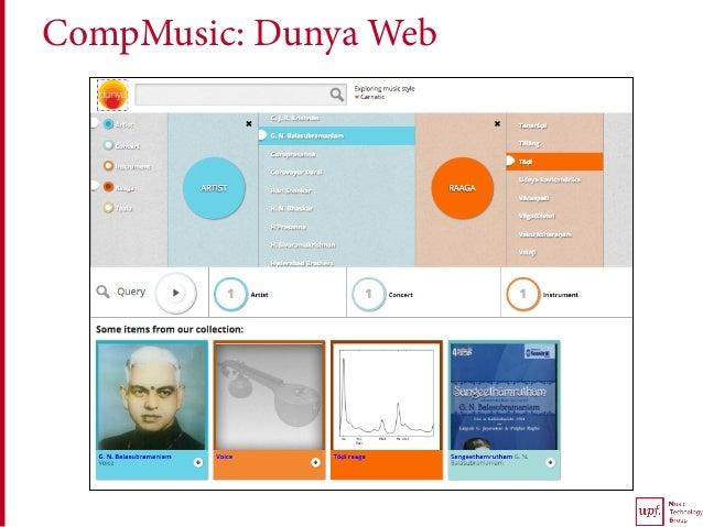 CompMusic: Dunya Web