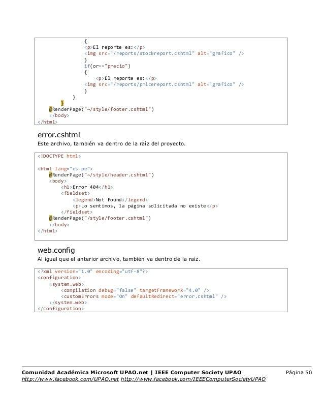 Tutorial Microsoft WebMatrix