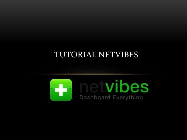 TUTORIAL NETVIBES