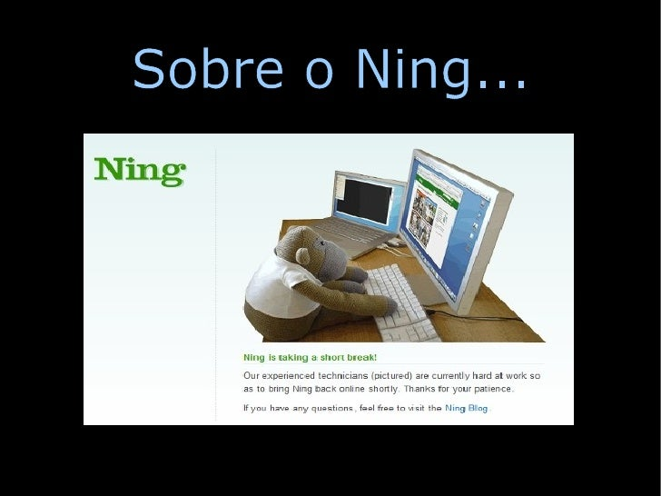 Sobre o Ning...