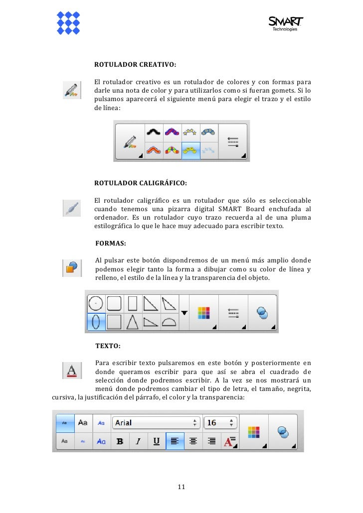 how to use smart notebook 11