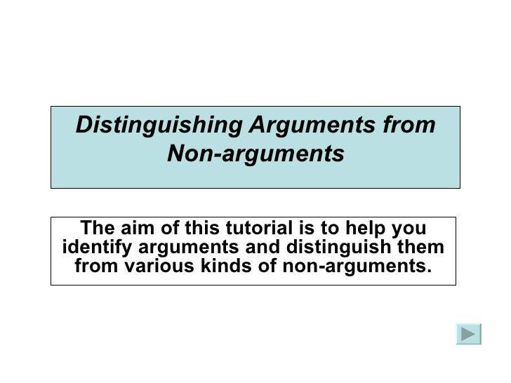 Premise Indicator Words: Tutorial On Arguments Premises-conclusions