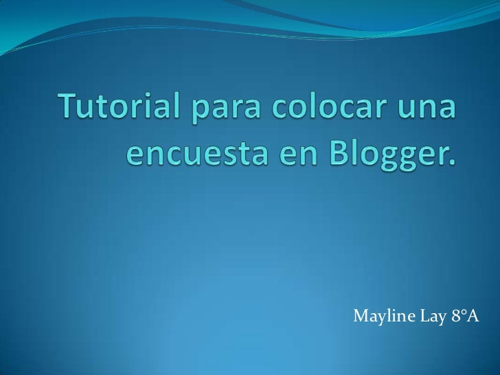 Mayline Lay 8°A