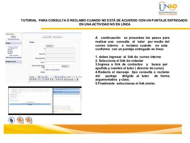 Tutorial para consulta o reclamo puntaje unad for Consul tutorial