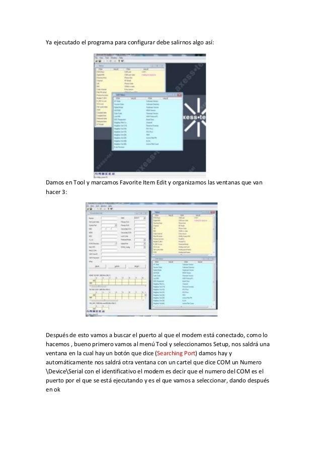 firmware axesstel d800