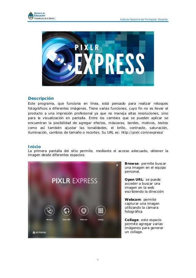 Tutorial pixlr express