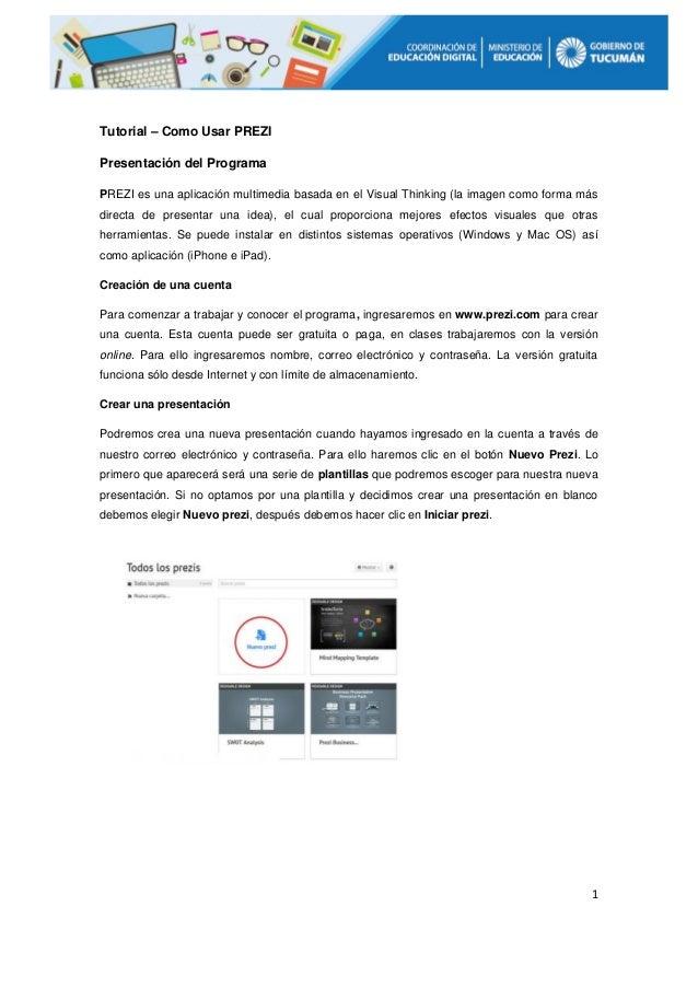 Programa apresentacao slides prezi