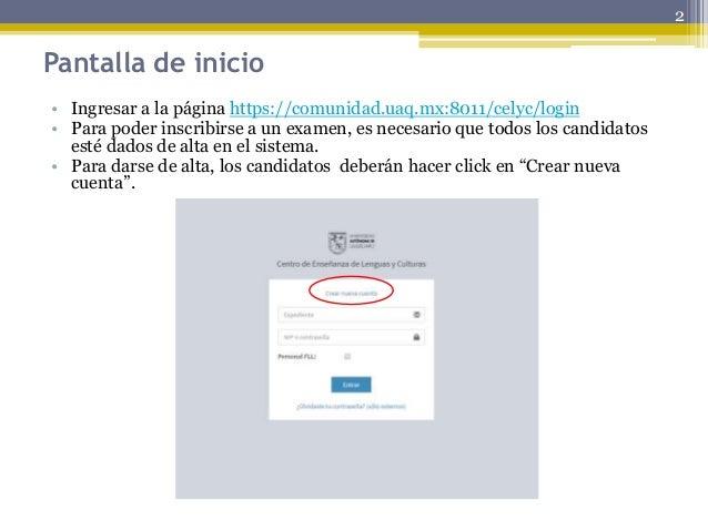 Tutorial proceso examenes fll uaq Slide 2
