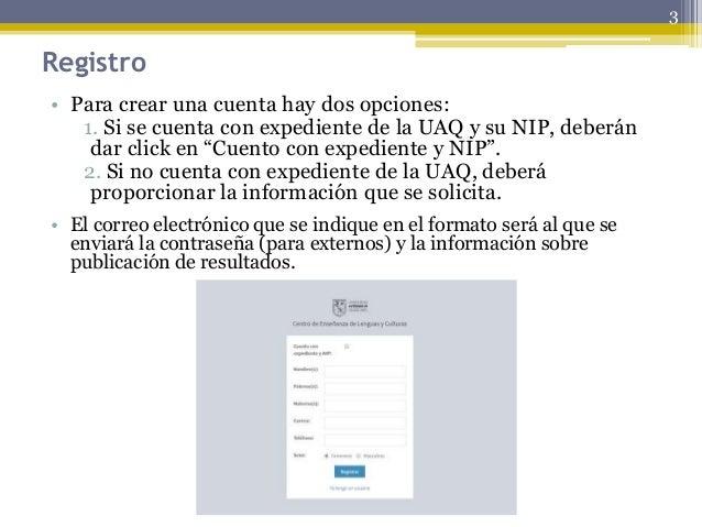 Tutorial proceso examenes fll uaq Slide 3