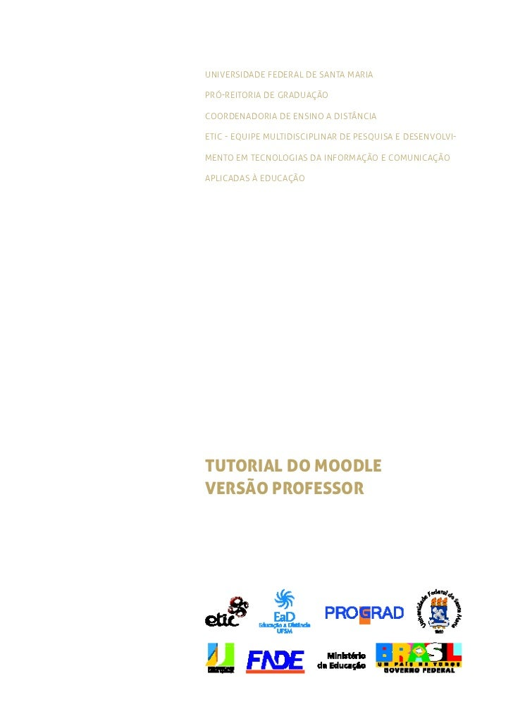 Universidade Federal de santa Mariapró-reitoria de graduaçãocoordenadoria de ensino a distânciaetic - equipe multidiscipli...