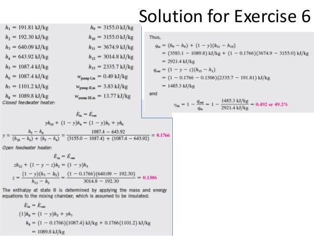 Thermodynamics lecture list.