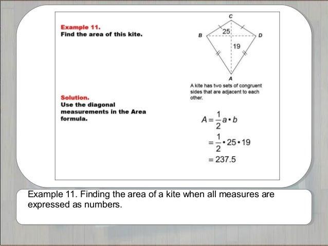 area of quadrilateral formula pdf