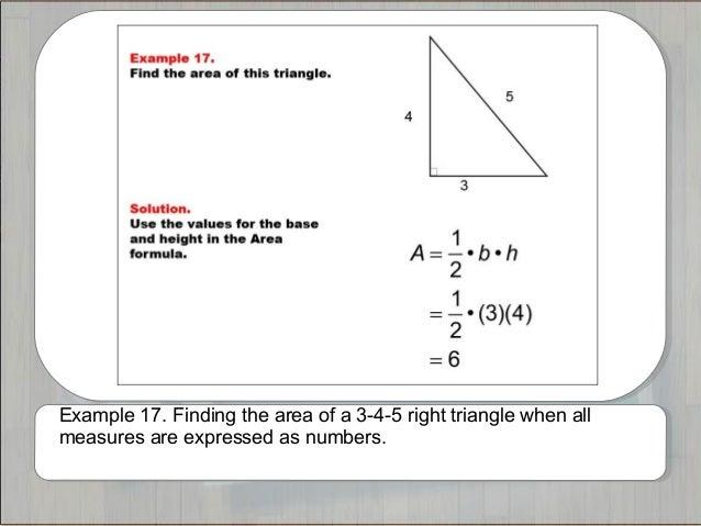 Tutorials triangle area and perimeter example 17 ccuart Choice Image