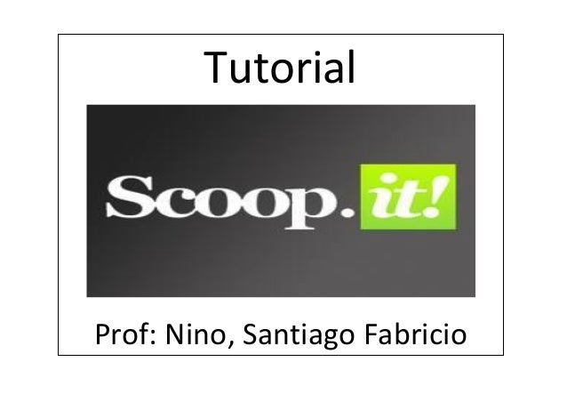 TutorialProf: Nino, Santiago Fabricio