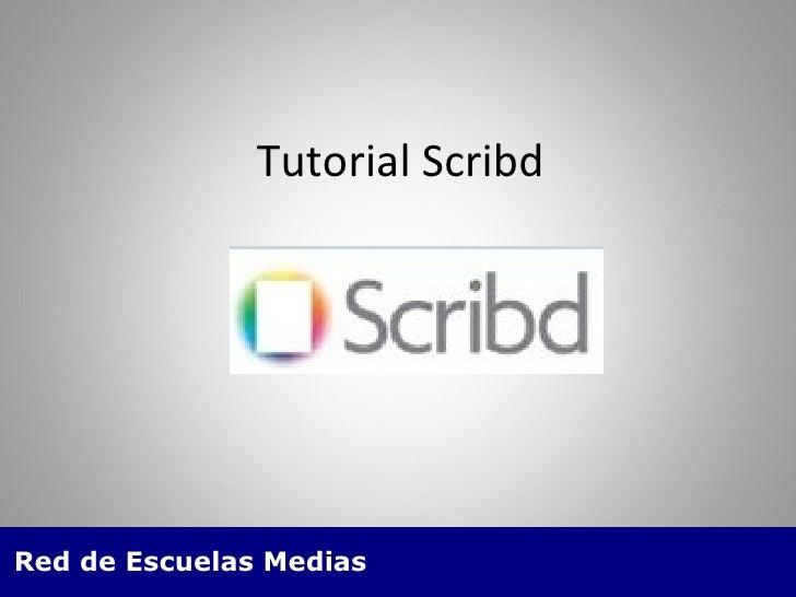 Tutorial Scribd