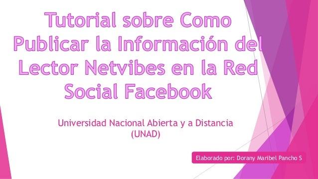 Universidad Nacional Abierta y a Distancia  (UNAD)  Elaborado por: Dorany Maribel Pancho S