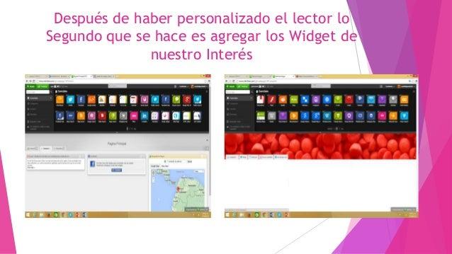 Tutorial sobre como publicar la información del lector netvibes en Facebook Slide 3