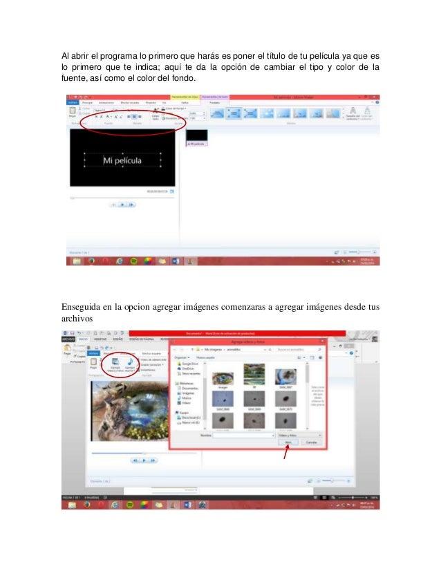 tutorial windows movie maker