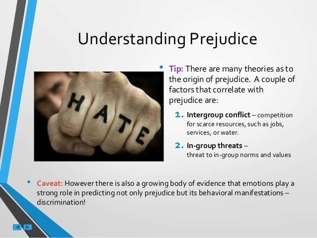 what is the relationship between stereotypes and prejudice Start studying society the basics, chapter 11 learn vocabulary,  explain the relationship between stereotypes, prejudice, discrimination and racism as a vicious.