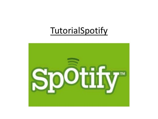 TutorialSpotify