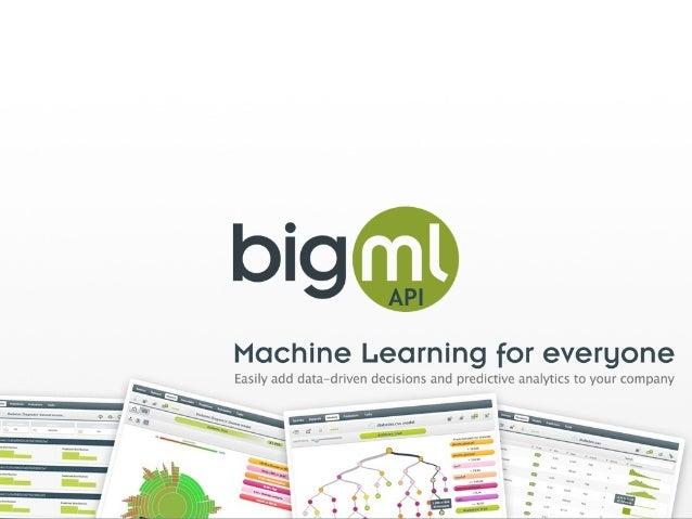BigML Inc API