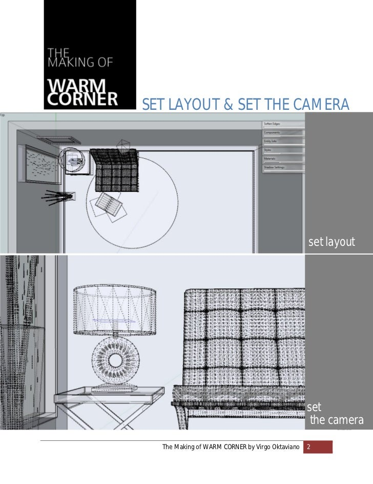 SET LAYOUT & SET THE CAMERA                                                 set layout                                    ...