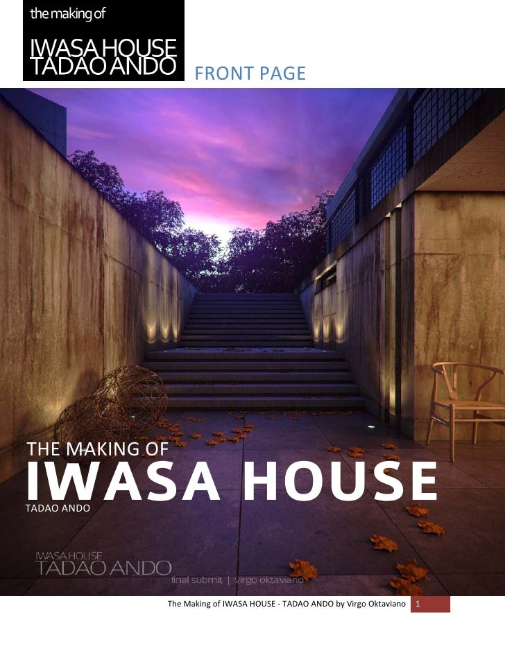 FRONT PAGE                                                                                           THE MAKING OF     IWA...