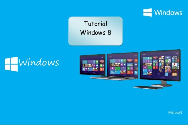 1 Windows Tutorial Windows 8