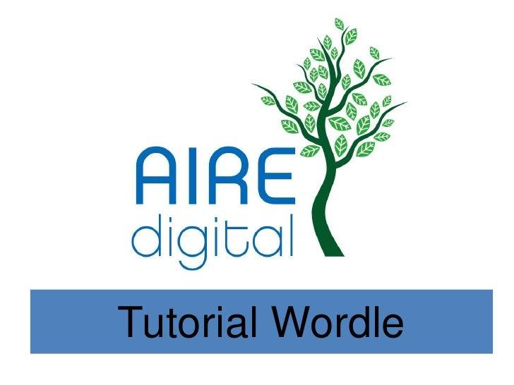 Tutorial Wordle<br />