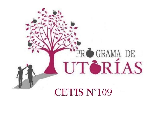 CETIS N°109