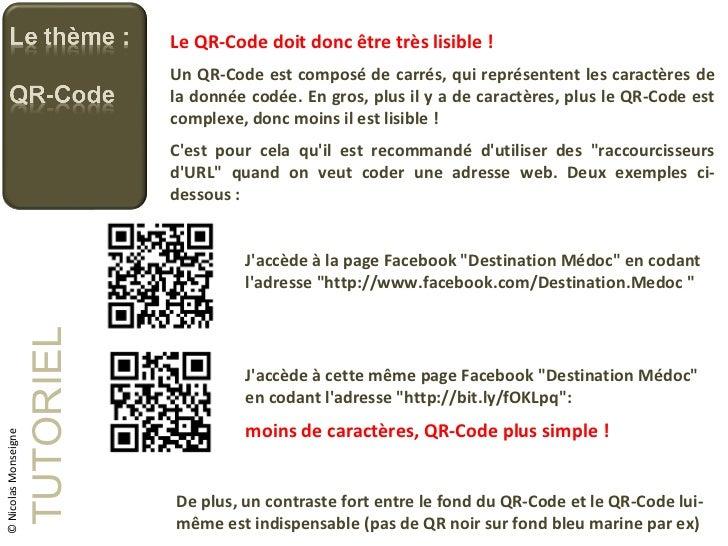 Tutoriel - creer ses qr-codes Slide 3