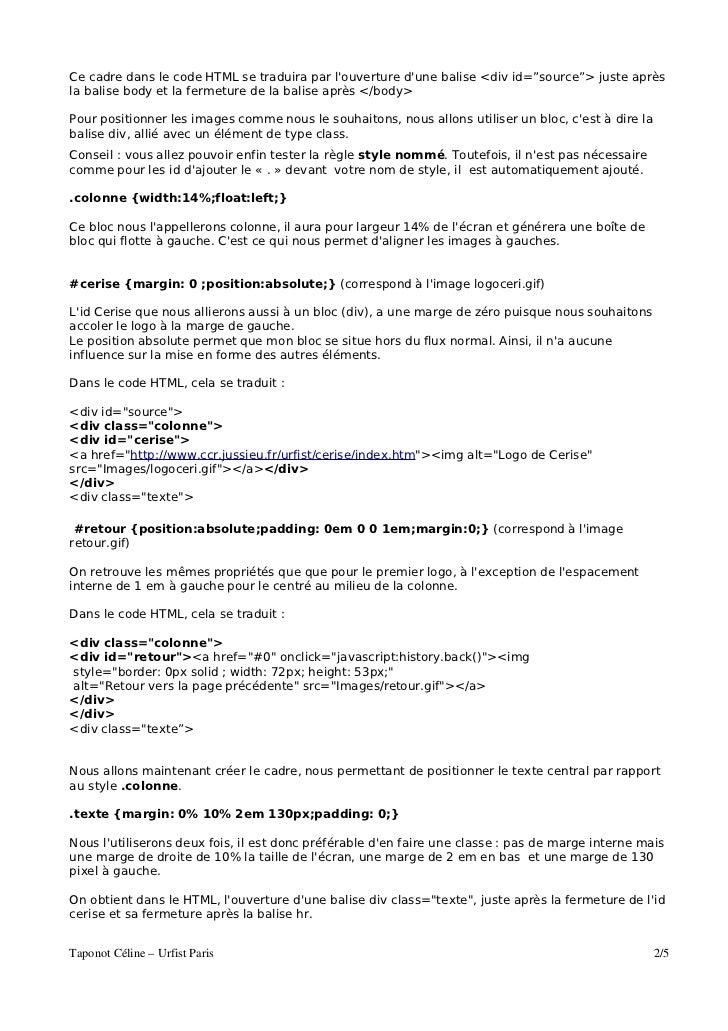 tutoriel css jm chine Slide 2