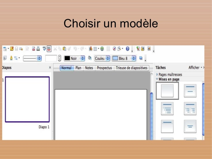 Tutoriel diaporama open office impress - Pagination automatique open office ...
