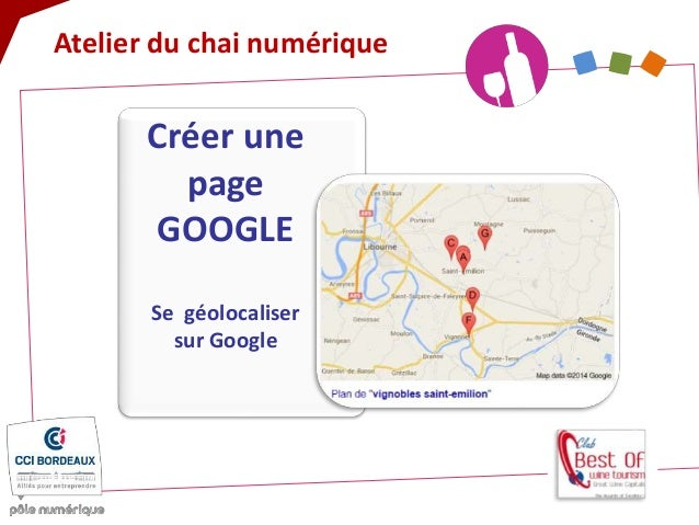 Google my business pour les propri t s viticoles for Se geolocaliser