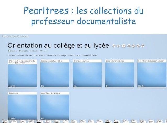 Pearltrees : les collections du professeur documentaliste