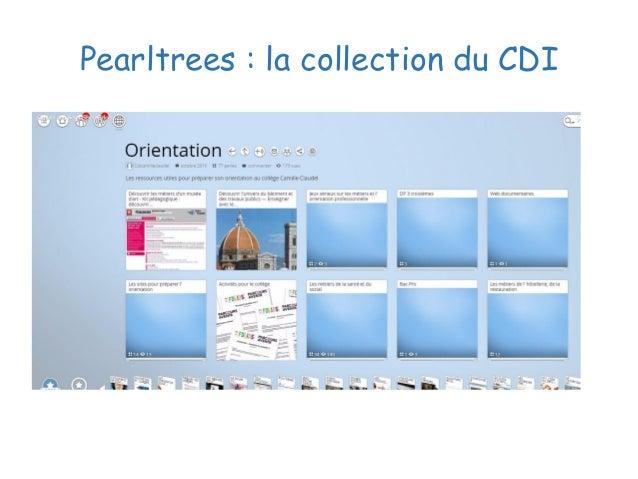 Pearltrees : la collection du CDI
