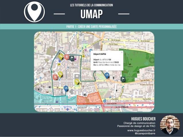 Tutoriel UMAP #01 : Créer une carte personnalisée