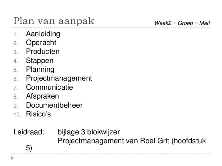 Roel Grit Projectmanagement Pdf