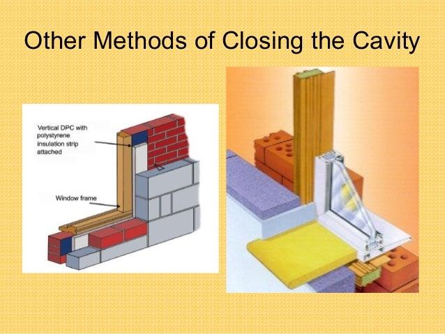 Tutor Openings In Cavity Walls Ppt 5